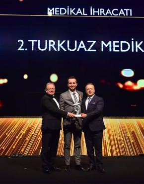 İhracatın Yıldızları 'Medikal Ürünler' Kategorisinde İkincilik Ödülünün Sahibi Olduk!