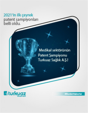 Patent Champion of the Medical Sector is Turkuaz Healthcare!