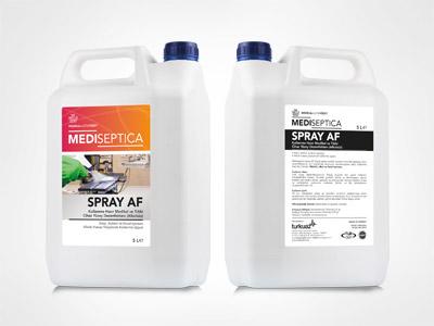 Mediseptica Rapid Spray Aldehitsiz,Kullanıma Hazır Medikal ve Tıbbi Cihaz Yüzey Dezenfektanı – Alkolsüz