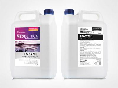 Mediseptica Enzyme Enzim Bazlı, Konsantre Tıbbi Alet ve Endoskop Dezenfektanı