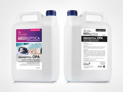 Mediseptica OPA %0,55 Ortofitaldehitli Yüksek Düzey Tıbbi Alet ve Endoskop Dezenfektanı