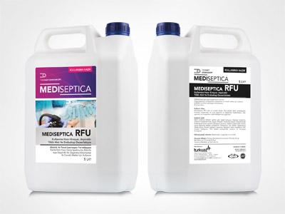 Mediseptica RFU Kullanıma Hazır Kreşuar, Aspiratör, Tıbbi Alet ve Endoskop Dezenfektanı