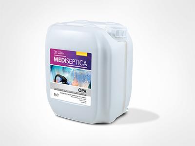 Mediseptica OPA %0,55 Ortofitaldehitli Tıbbi Cihaz ve Endoskoplar için Yüksek Düzey Dezenfektan