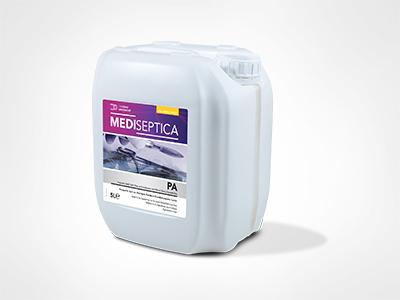 Mediseptica PA Perasetik Asitli Tıbbi Cihaz ve Endoskoplar için Yüksek Düzey Dezenfektan